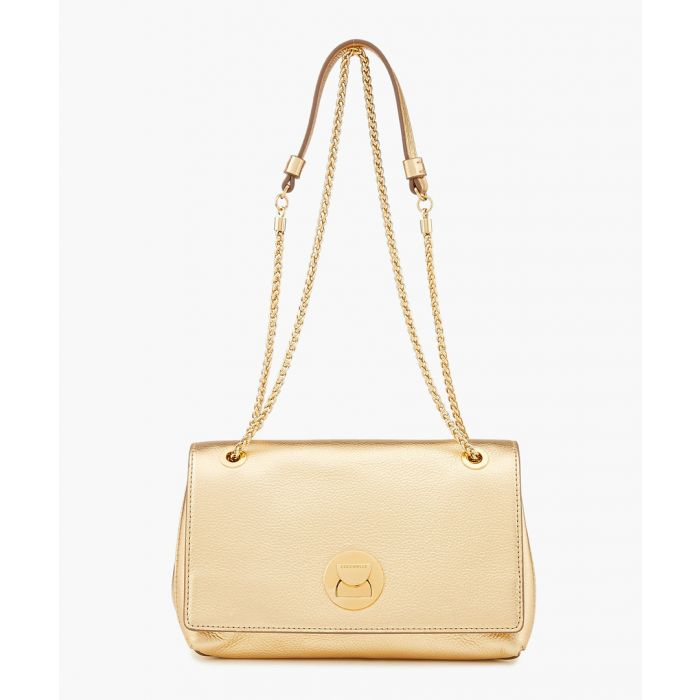 Image for Liya platinum leather chain crossbody