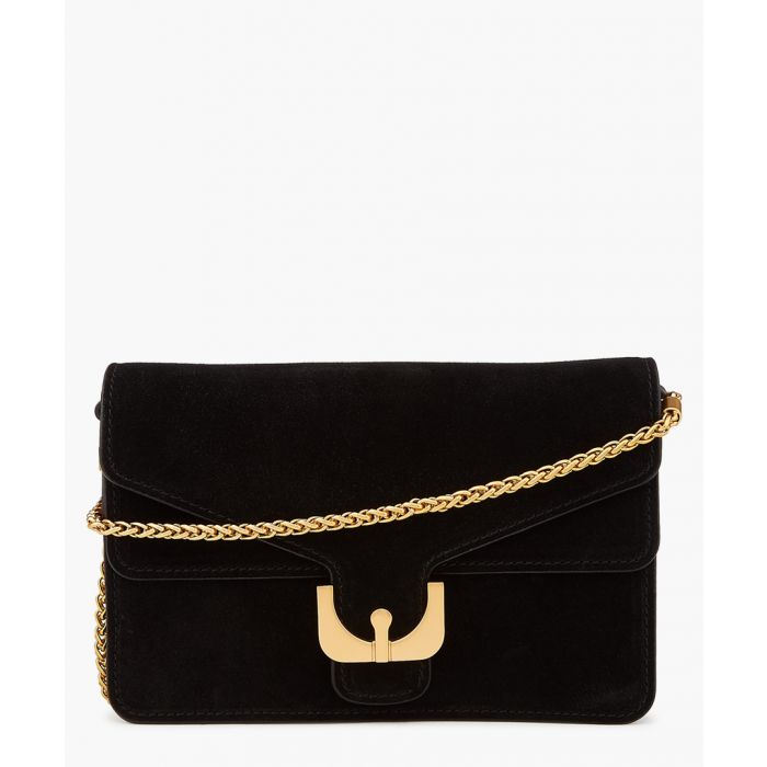 Image for Ambrine black suede bag