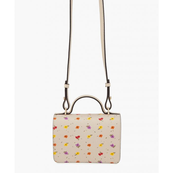 Image for Multi-coloured leather clutch