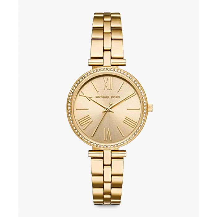 Image for Michael Kors Maci gold-tone steel watch Analogue gold-tone