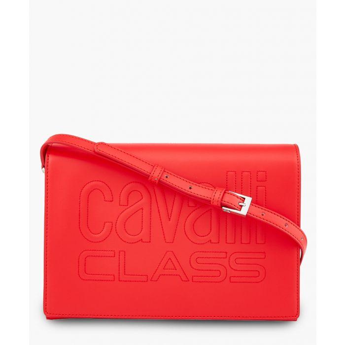Image for Viviane red shoulder bag