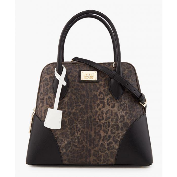 Image for Marion medium leopard print bag