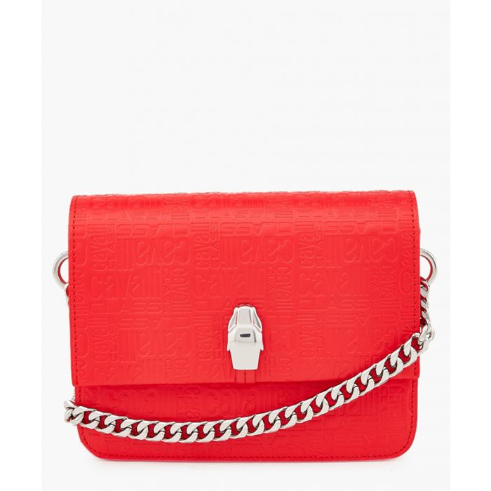 Image for Milano medium red leather crossbody