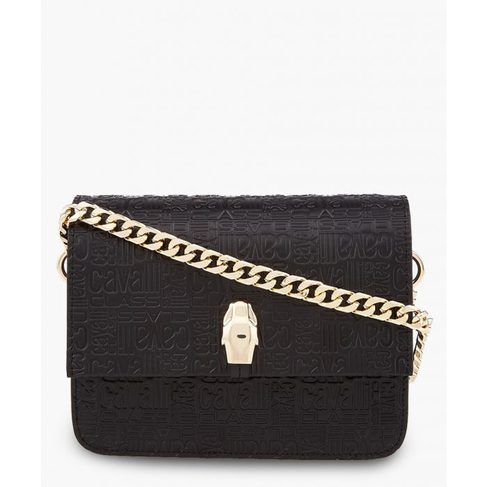 Image for Milano medium black leather crossbody