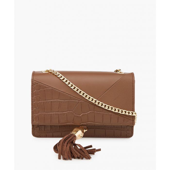 Image for RSVP Glam brown shoulder bag