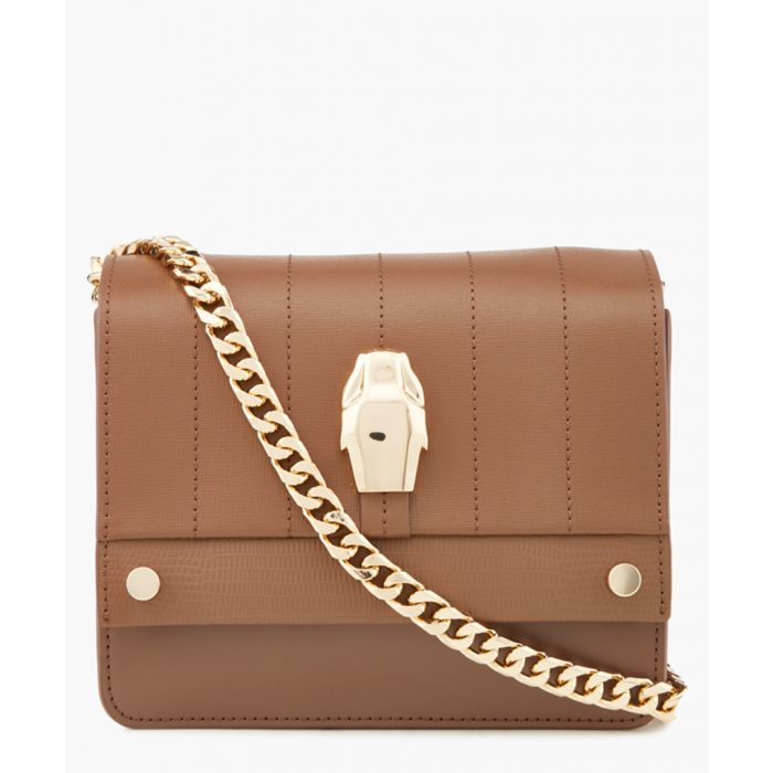 Image for Dauphine brown small shoulder bag