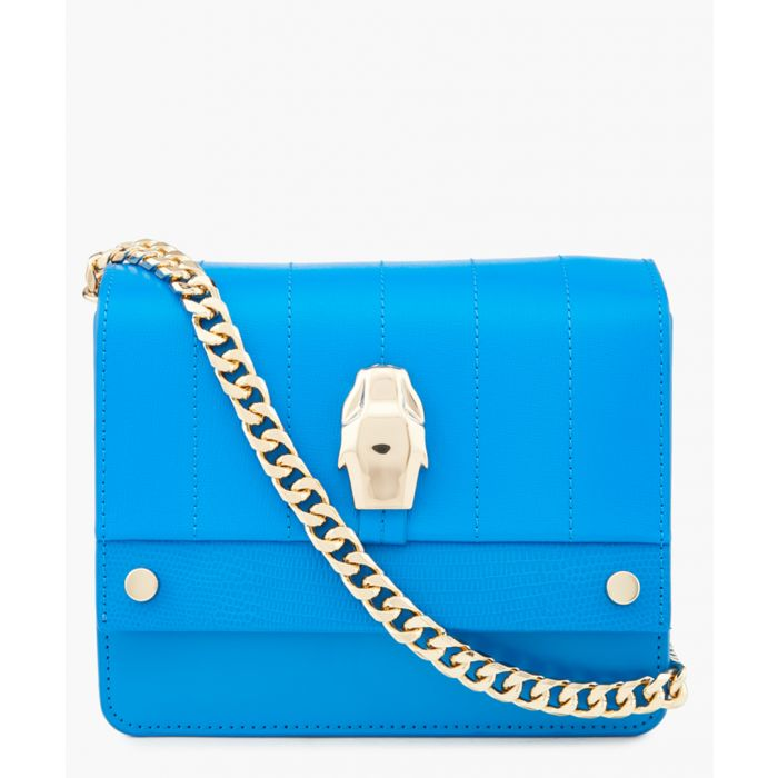 Image for Dauphine blue small shoulder bag