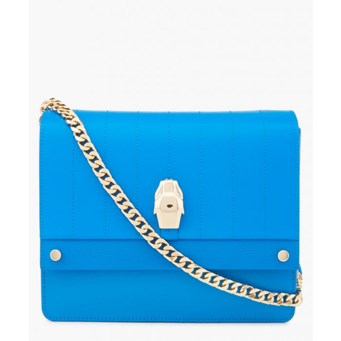 Image for Dauphine blue medium shoulder bag