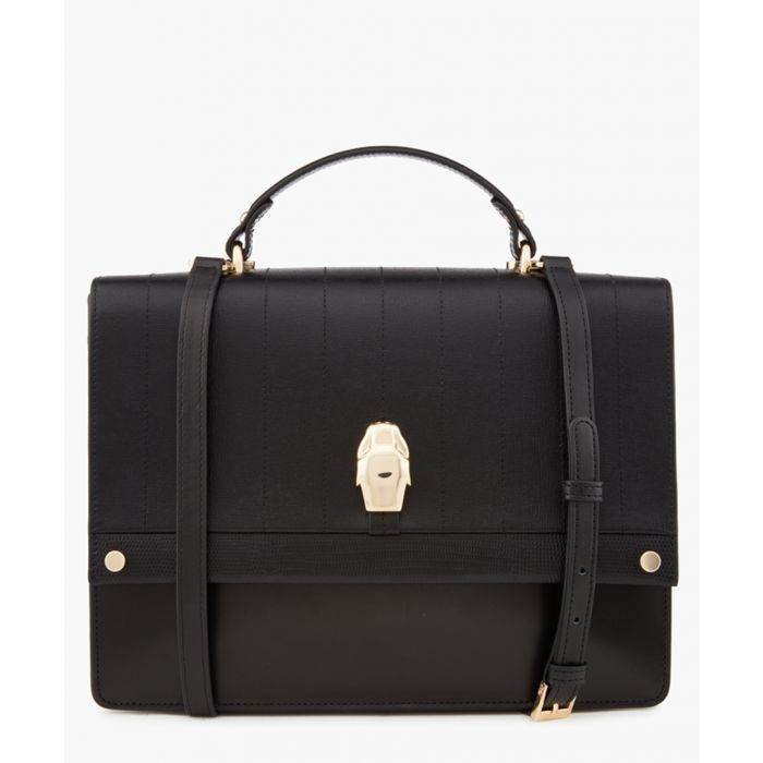 Image for Dauphine black medium shoulder bag