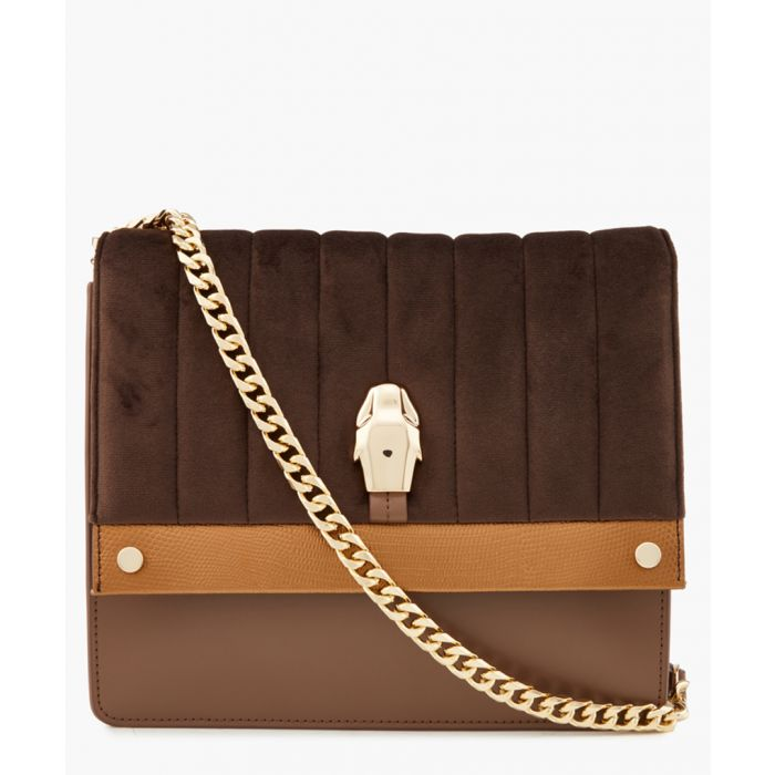 Image for Dauphine brown medium shoulder bag
