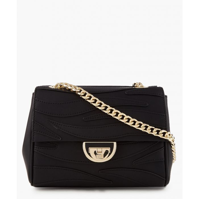 Image for Jeannine small black shoulder bag