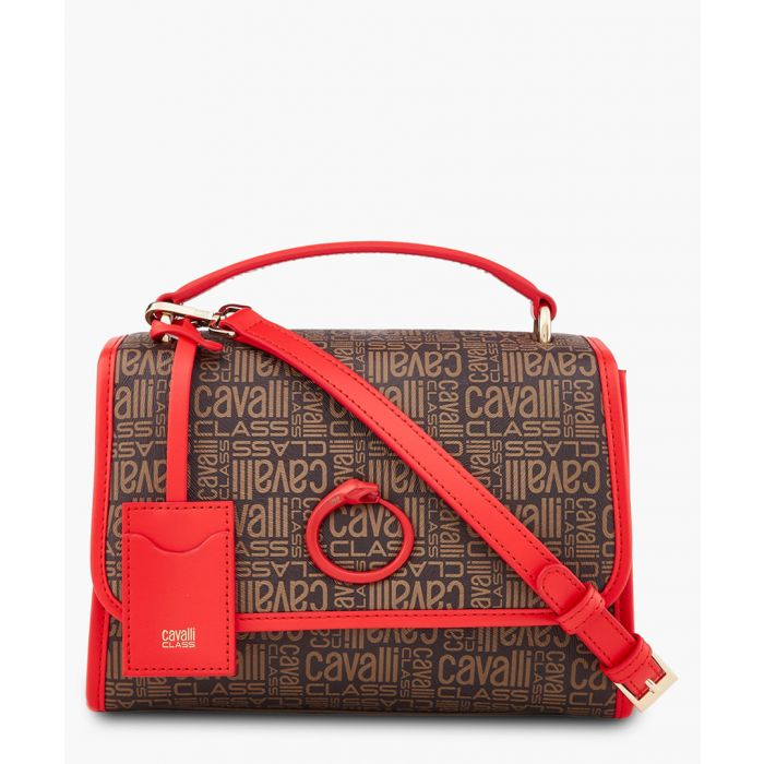 Image for Monogram small brown and red shoulder bag