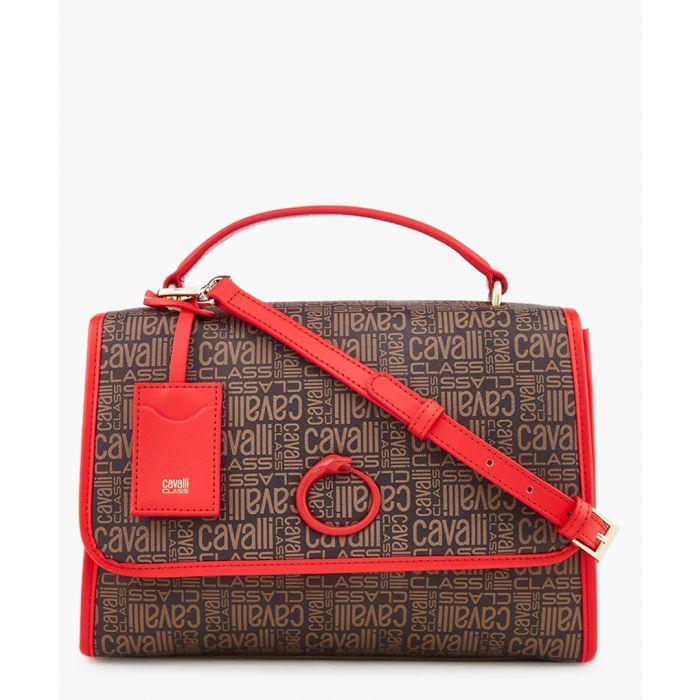 Image for Monogram medium brown and red shoulder bag