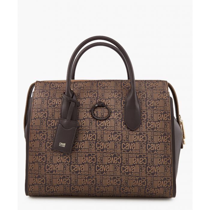 Image for Monogram medium brown shopper