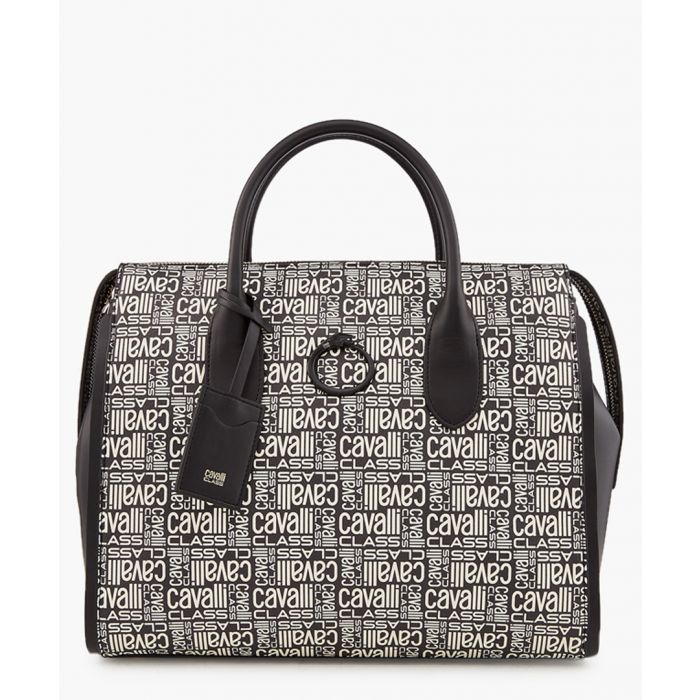 Image for Monogram medium black shopper