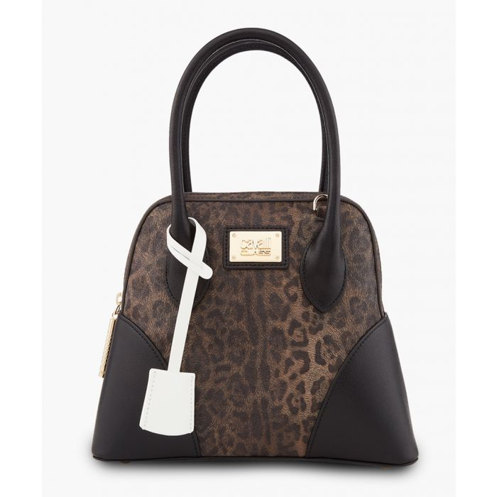Image for Marion small leopard print shopper