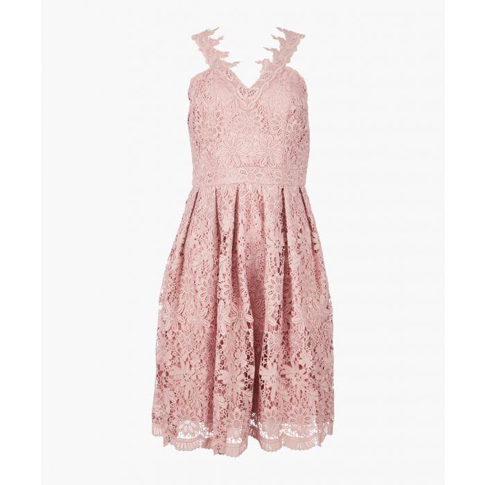 Image for Keara mink dress