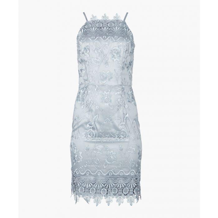 Image for Paige blue dress