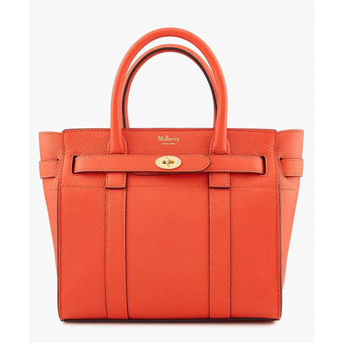 Image for Bayswater tangerine orange shopper
