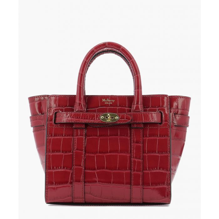 Image for Micro zipped Bayswater red bag