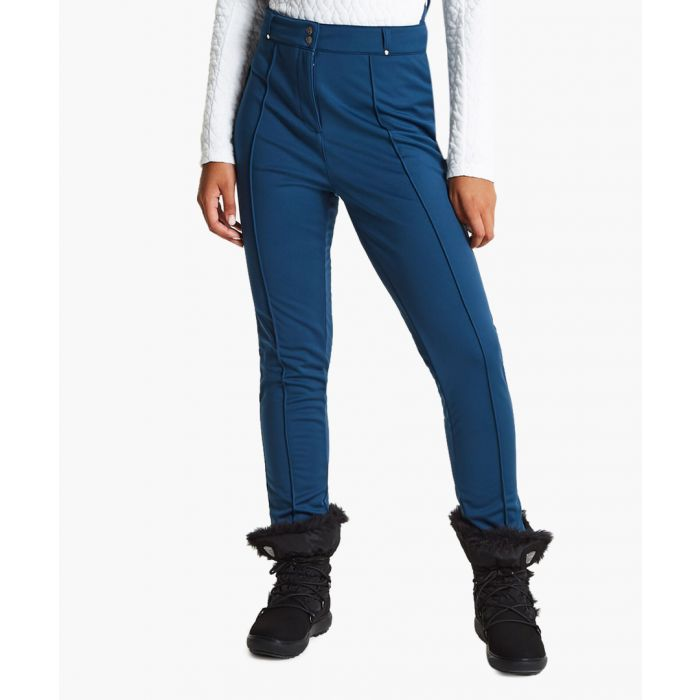 Image for Blue wing slender trousers