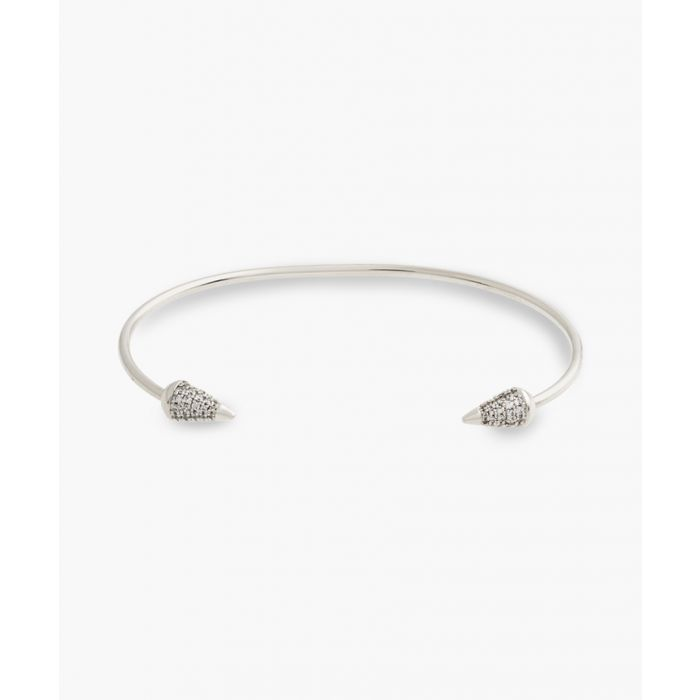 Image for 18k white gold-plated bracelet