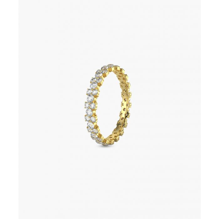 Image for 9k yellow gold eternity ring