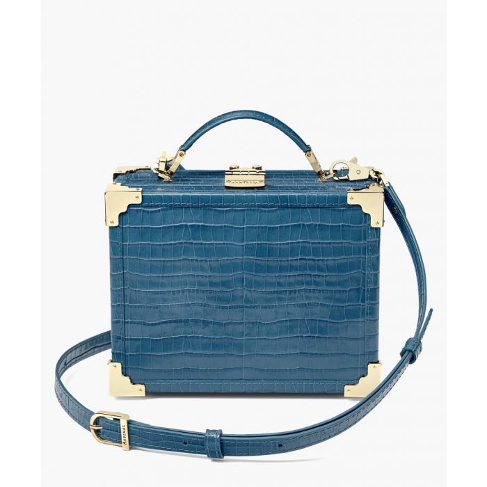 Image for The Mini Trunk blue shopper
