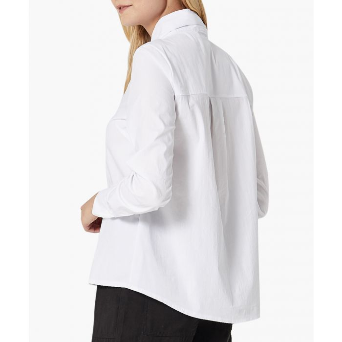 Image for White woven shirt