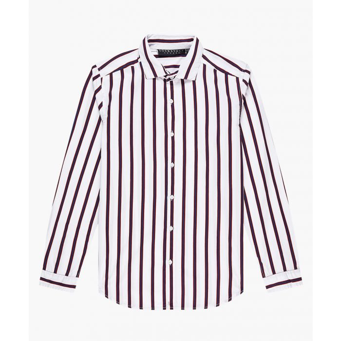 Image for Striped skinny fit shirt