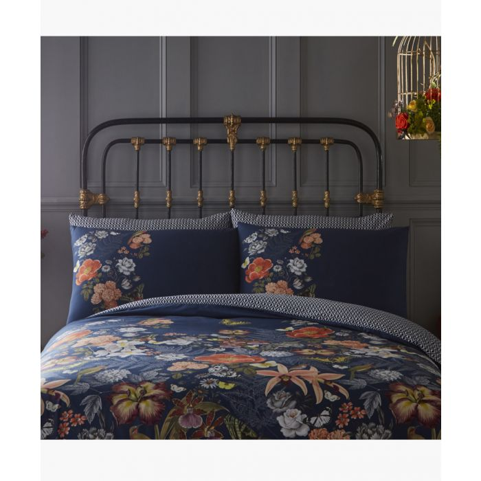 Image for 2pc Botanical multi-coloured pillow cases