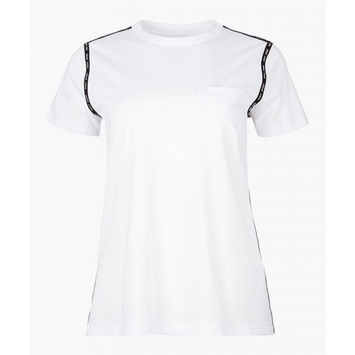 Image for White logo T-shirt