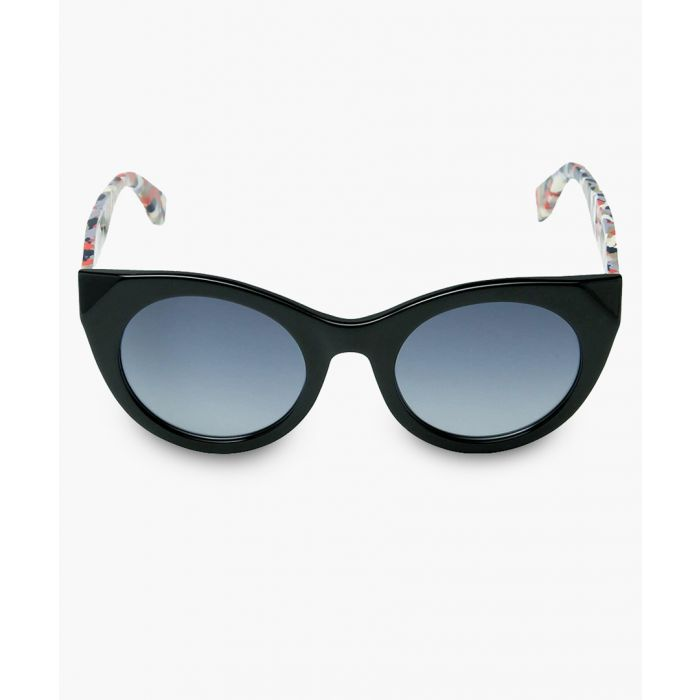 Image for Black and smoke shaded sunglasses