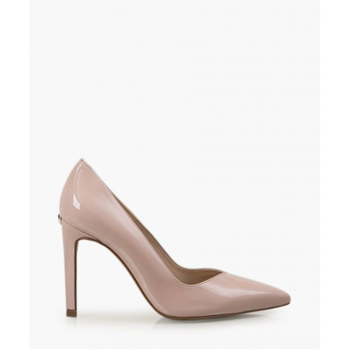 Image for Ella nude patent leather pumps