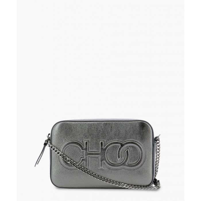 Image for Balti grey leather bag