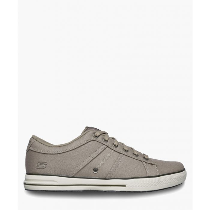 Image for Arcade Fulrow taupe memory foam lace-up trainers