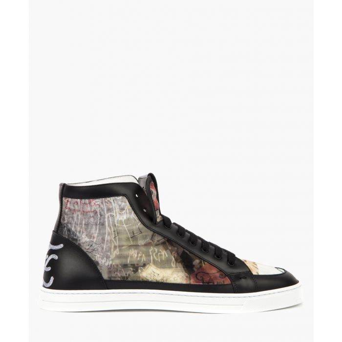 Image for Multi-coloured hi-top trainers