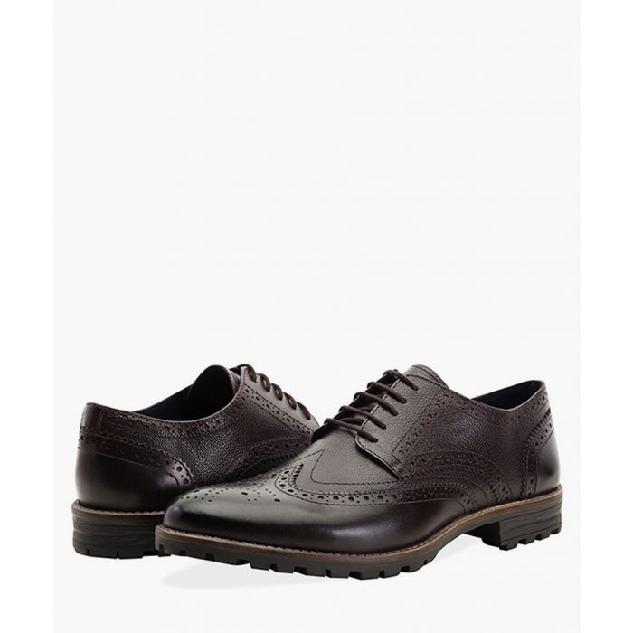 Image for Brown new edenfield derby brogues