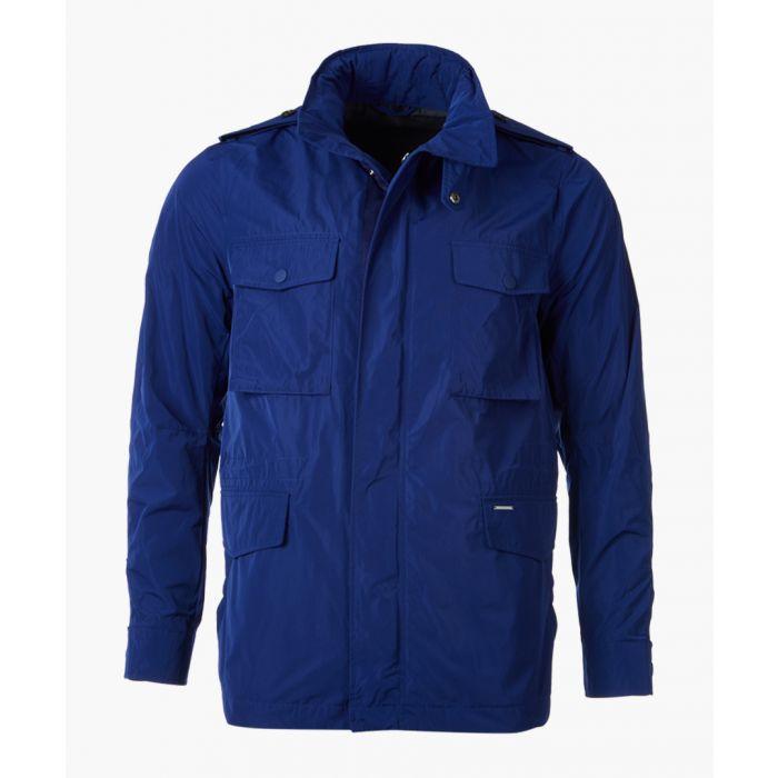 Image for Navy four pocket coat
