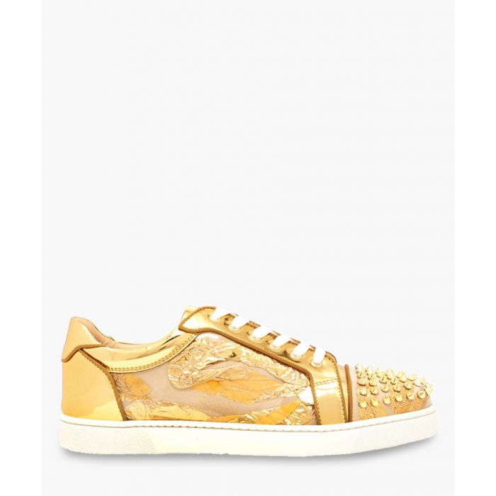 Image for Vieira spikes orlato golden sneakers