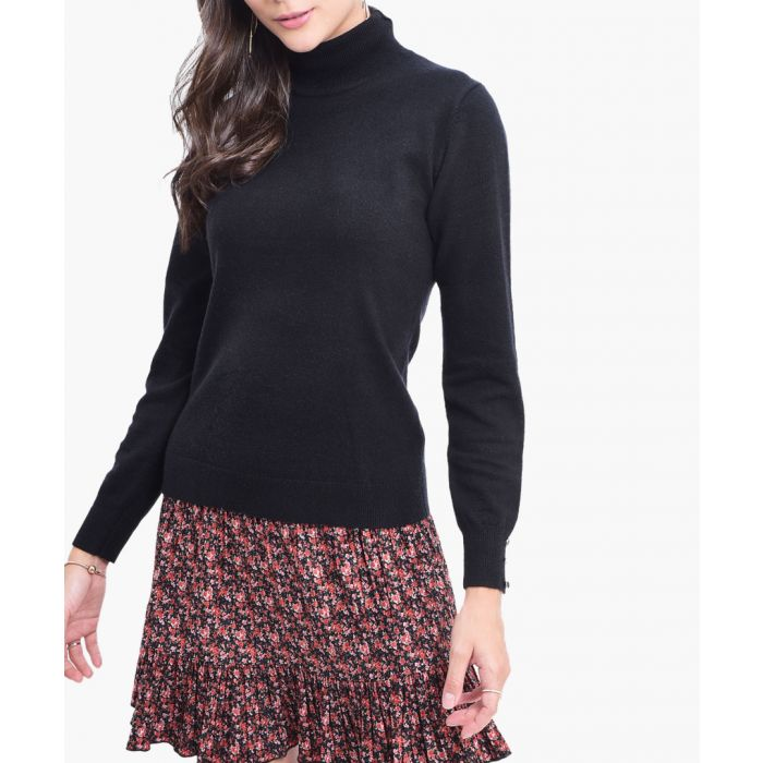 Image for Black cashmere blend jumper