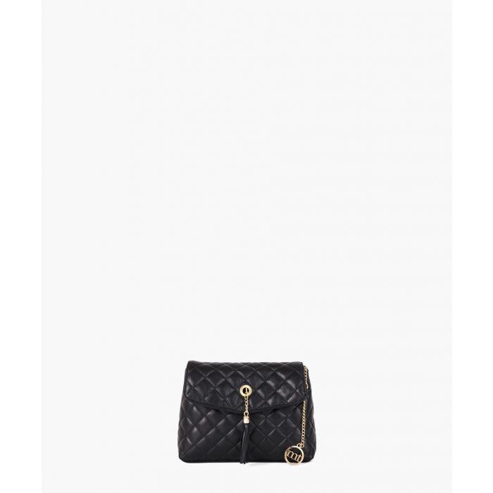 Image for Crema black shoulder bag