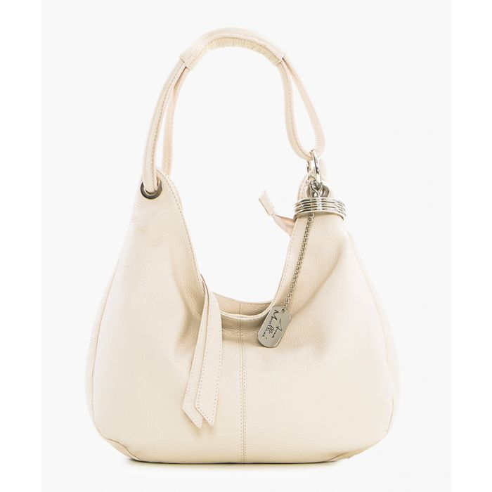 Image for Alba beige shoulder bag