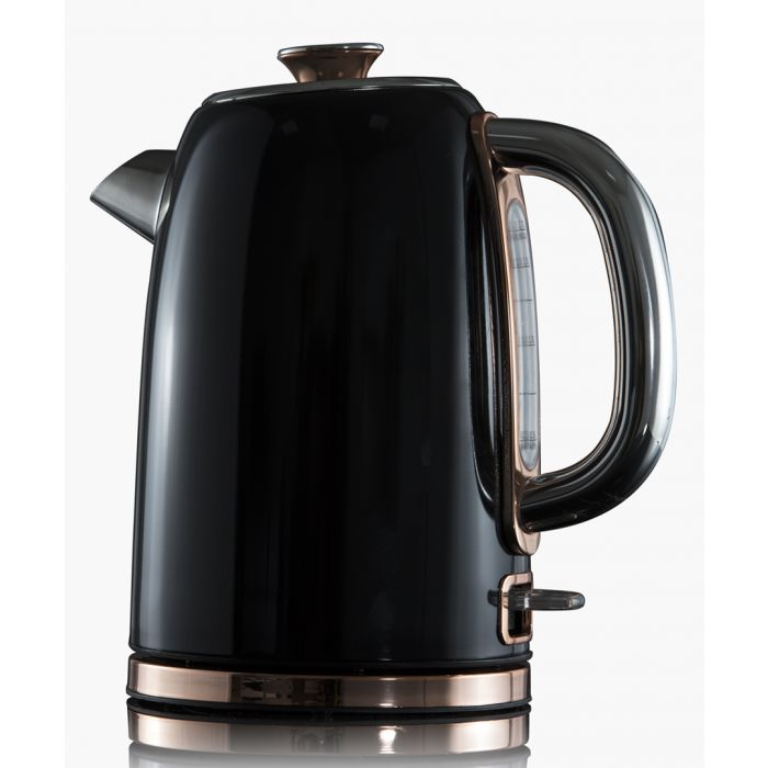 Image for Black stainless steel kettle