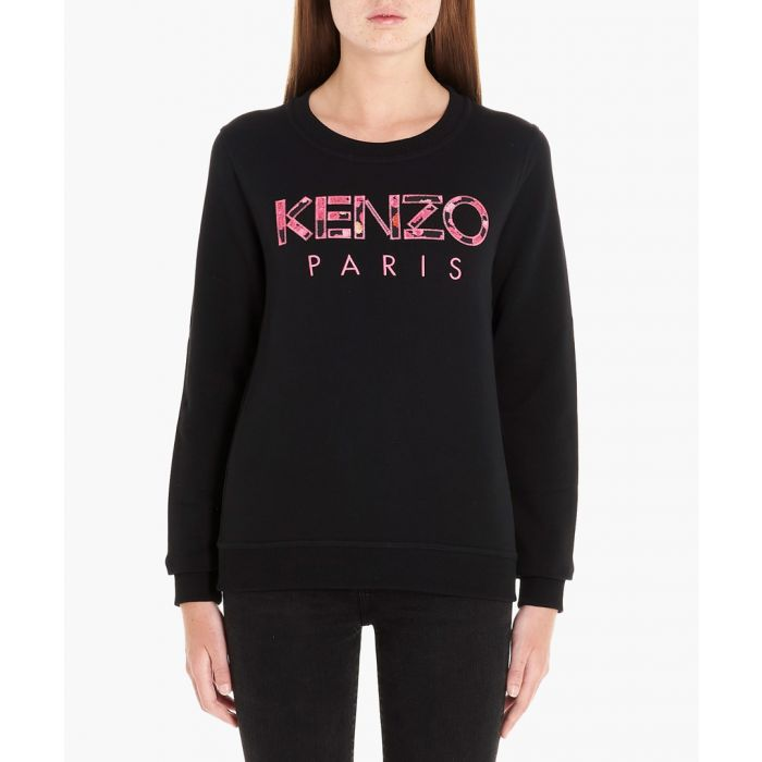 Image for Paris Peonie black sweatshirt