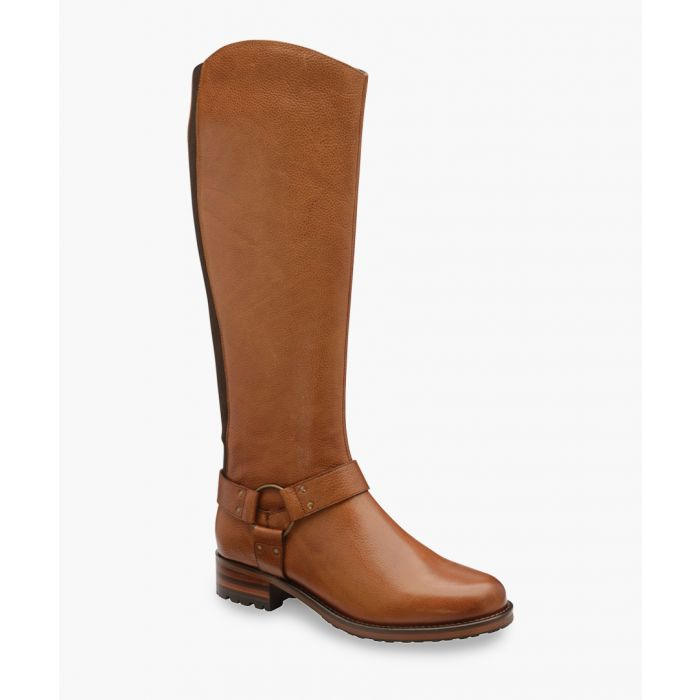 Image for Tan knee-high boots