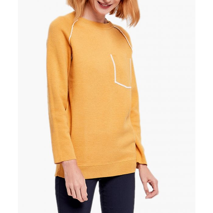 Image for Yellow cashmere blend jumper