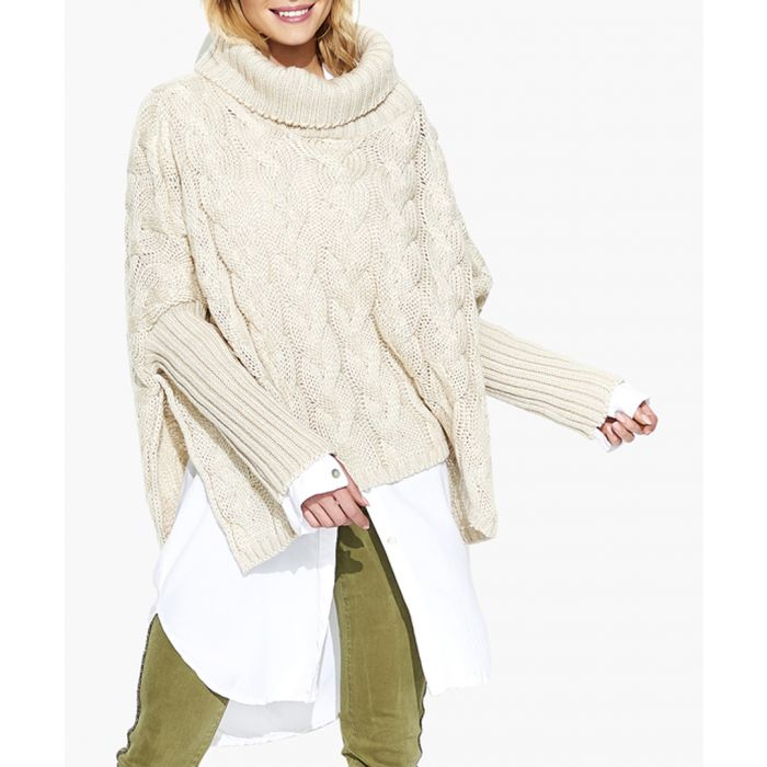 Image for Beige knitted sweater