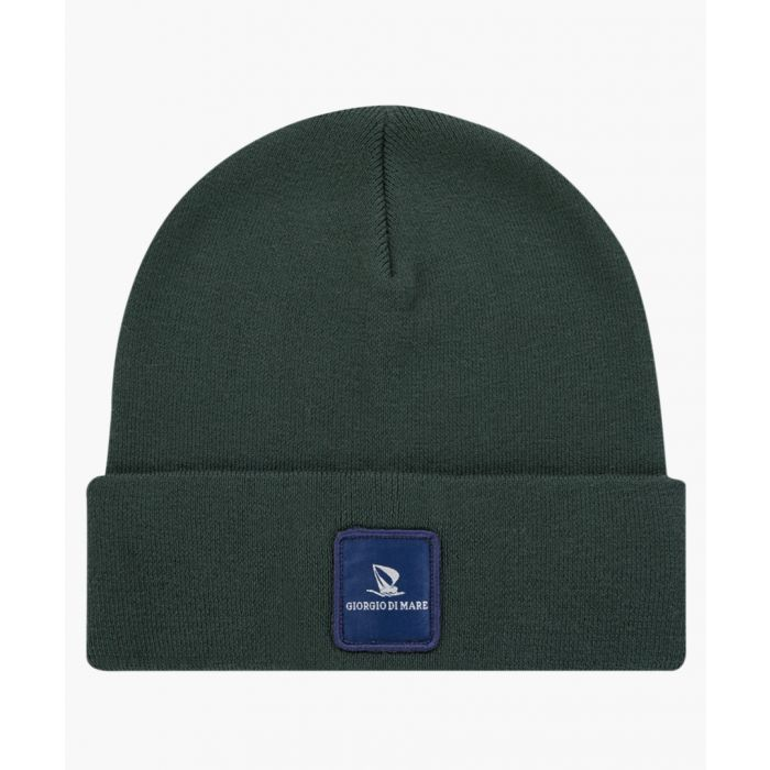 Image for Green pure cotton hat