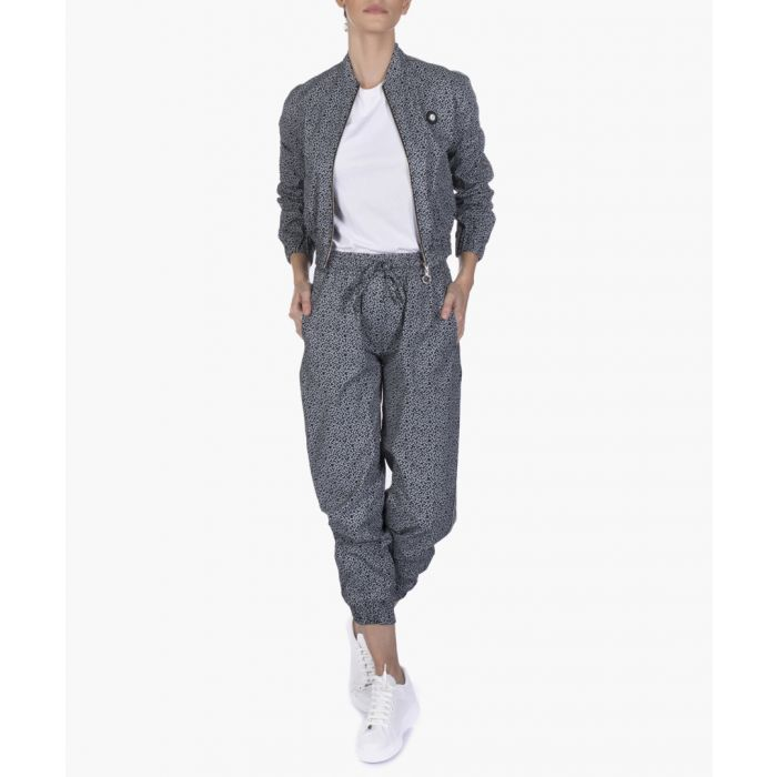 Image for Black cotton joggers